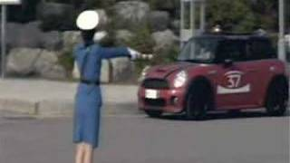 Pyongyang Traffic Cop Gets Mad At MINI