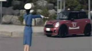 Pyongyang Traffic Cop Gets Mad At MINI