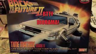 Back to the future diorama update 1!