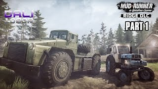 Spintires: MudRunner - The Ridge DLC Part 1 pc gameplay 1080p 60fps