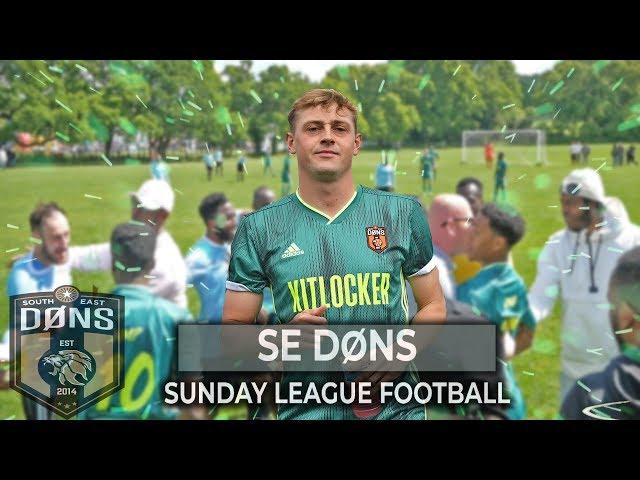 SE DONS vs KUMAZI STRIKERS | '1st vs 2nd' |Sunday League Football