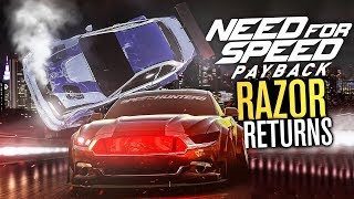 RAZOR RETURNS to Need for Speed Payback