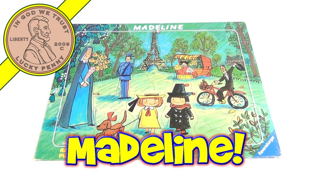 Madeline Frame Tray Puzzle # 066650 1991 Ravensburger Puzzle