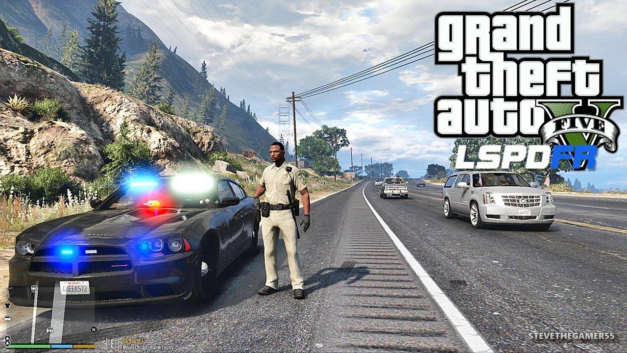 GTA 5 LSPDFR 0 3 1 - EPiSODE 177 - LET'S BE COPS - LIVE PATROL (GTA 5 PC  POLICE MODS)
