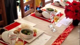 料理教室「おもてなし料理とテーブルコーディネート」Marble-Cooking テーブルコーディネート 検索動画 21