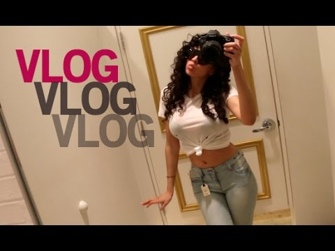 Vegas VLOG: My Empty Apartment, Going Away Party & Shopping!
