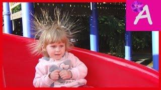 VLOG Как электризуется горка в FANTASY  PARK Идём в парк аттракционов Fantazy Колесо обозрения(, 2016-05-09T09:42:45.000Z)