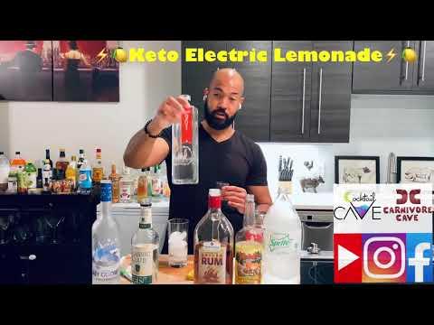 ⚡️�� Keto Electric Lemonade ��⚡️