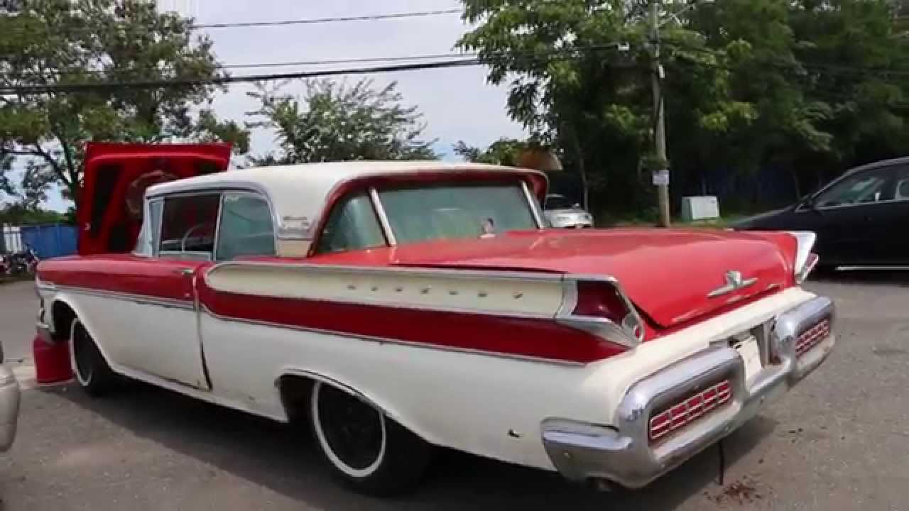 1957 Mercury Turnpike Cruiser For SaleGreat Project  YouTube