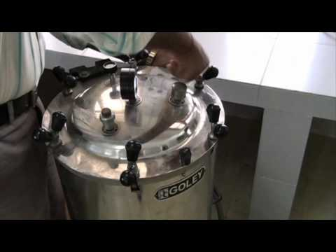 Simple autoclave