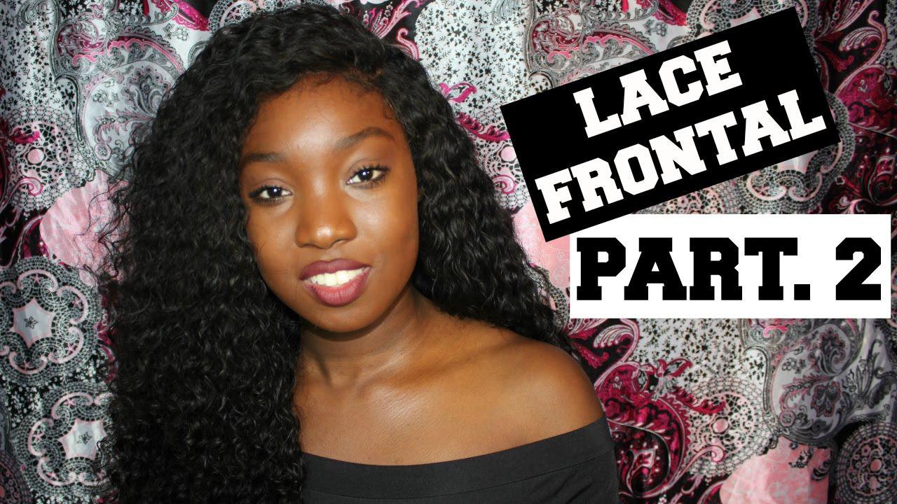 comment faire sa perruque avec une lace frontal part 2 youtube. Black Bedroom Furniture Sets. Home Design Ideas