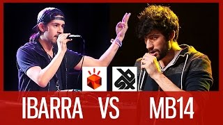 IBARRA vs MB14 | Grand Beatbox LOOPSTATION Battle 2016 | SMALL FINAL