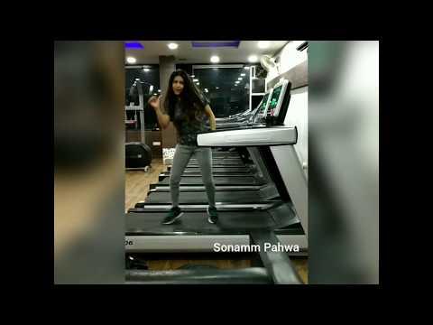 Dance While walking - 7 Treadmill Dance | Tere naal nachna - Badshah, Sunanda Sharma |