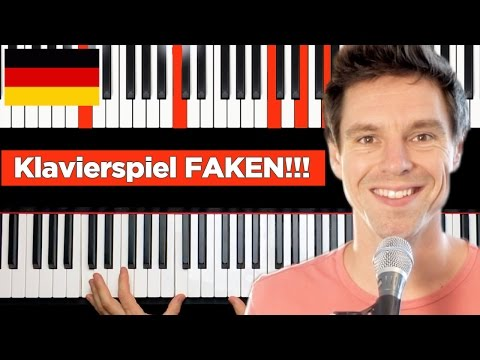 How to play piano without knowing how to play GERMAN VERSION