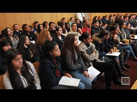 High schoolers ask Supreme Judicial Court Justices tough questions