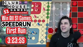 Win All 51 Speedrun in 3:23:55 | Clubhouse Games 51 WwC (FIRST RUN!)