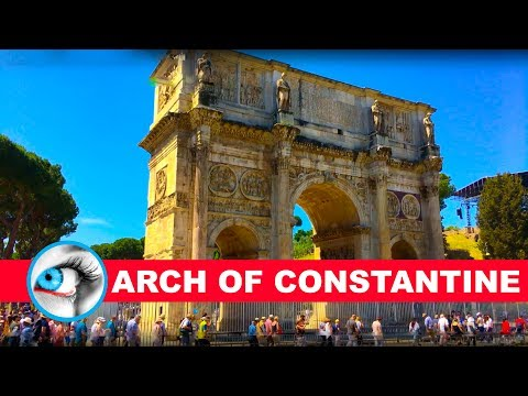 Arch of Constantine Rome Italy 4K Ultra HD Travel Guide Video