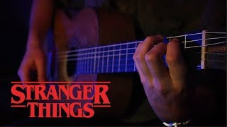 Stranger Things - Main Theme - Acoustic Guitar Cover