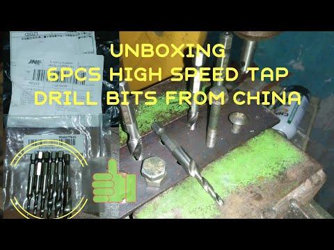 Tes Tap Drill Bits   Mata Bor Untuk Buat Lubang dan ulir Pada Besi/Aluminium