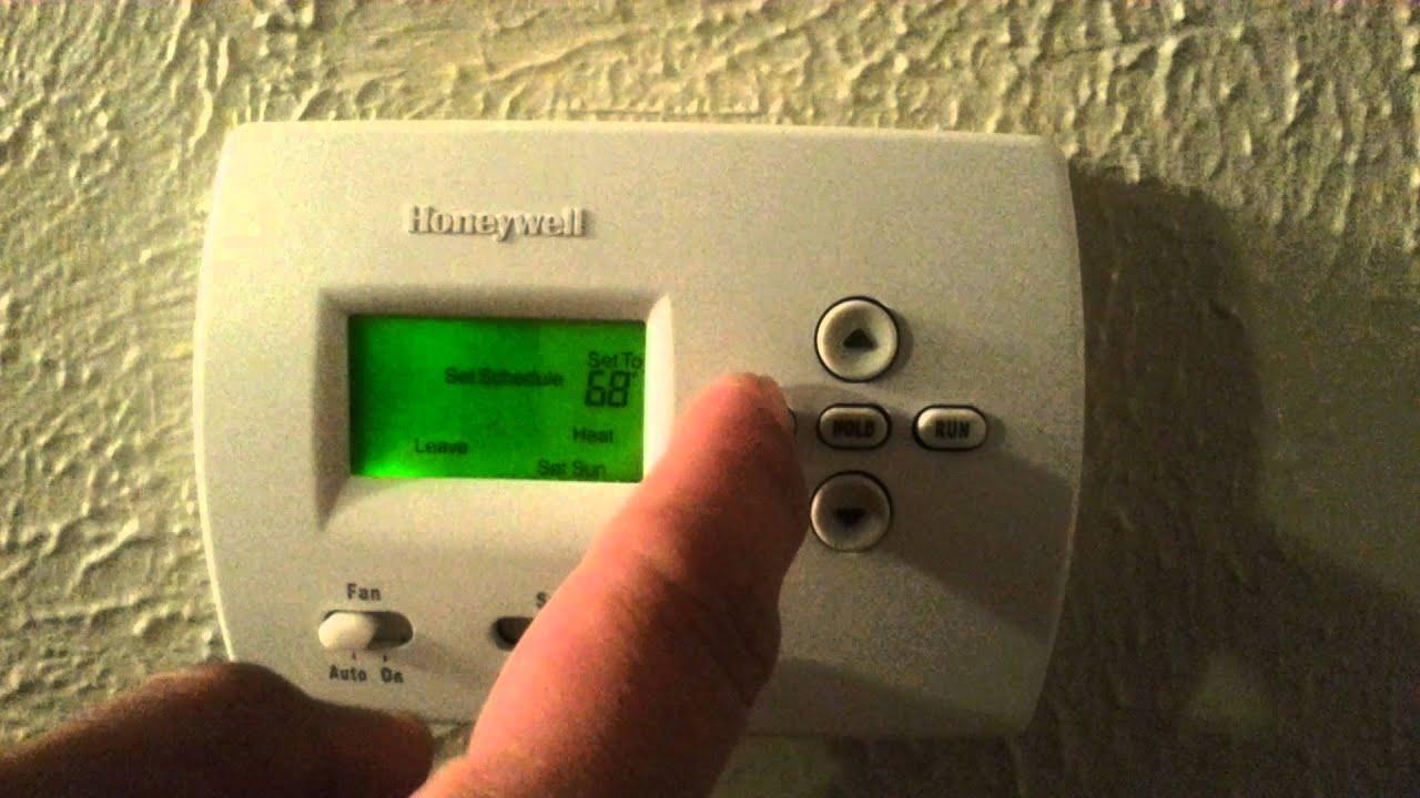 honeywell pro programmable thermostat honeywell pro 4000 programmable thermostat