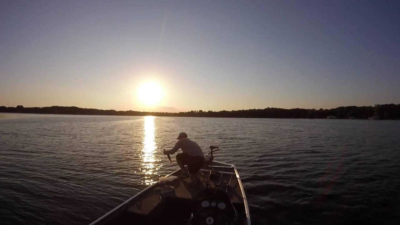 Lake minnetonka july bass fishing youtube for Lake minnetonka fishing report