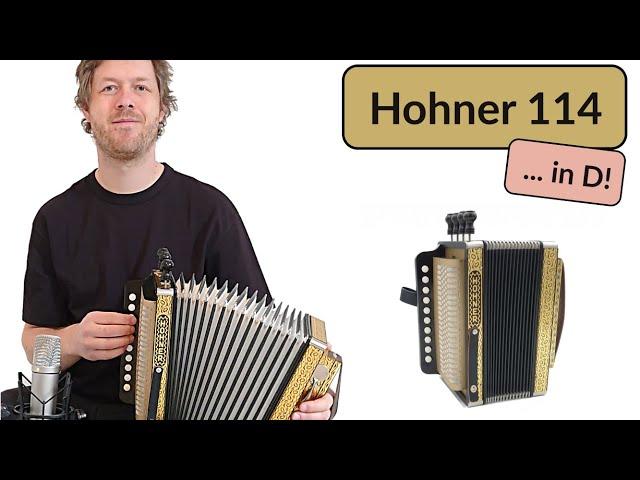 Hohner 114 in D - Dance Of The Honeybees - Accordion Doctor