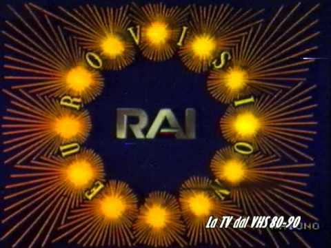 La Tv Dal Vhs 80 90 Sigle Eurovisione Youtube