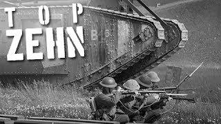 10 unglaubliche Fakten über den 1. Weltkrieg