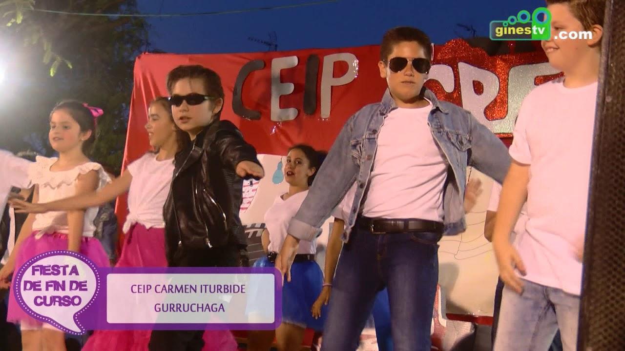 Fiesta fin de curso CEIP Carmen Iturbide de Gines 2017-2018 (resumen)