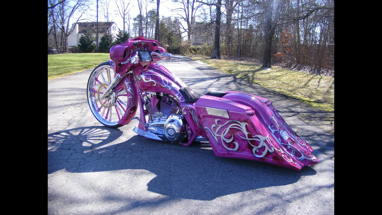 jennifer's 30 inch bagger custom cycles ltd street glide harley
