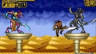 [GBA] The Scorpion King: Sword of Osiris by Stobczyk 2/7 (Longplay)