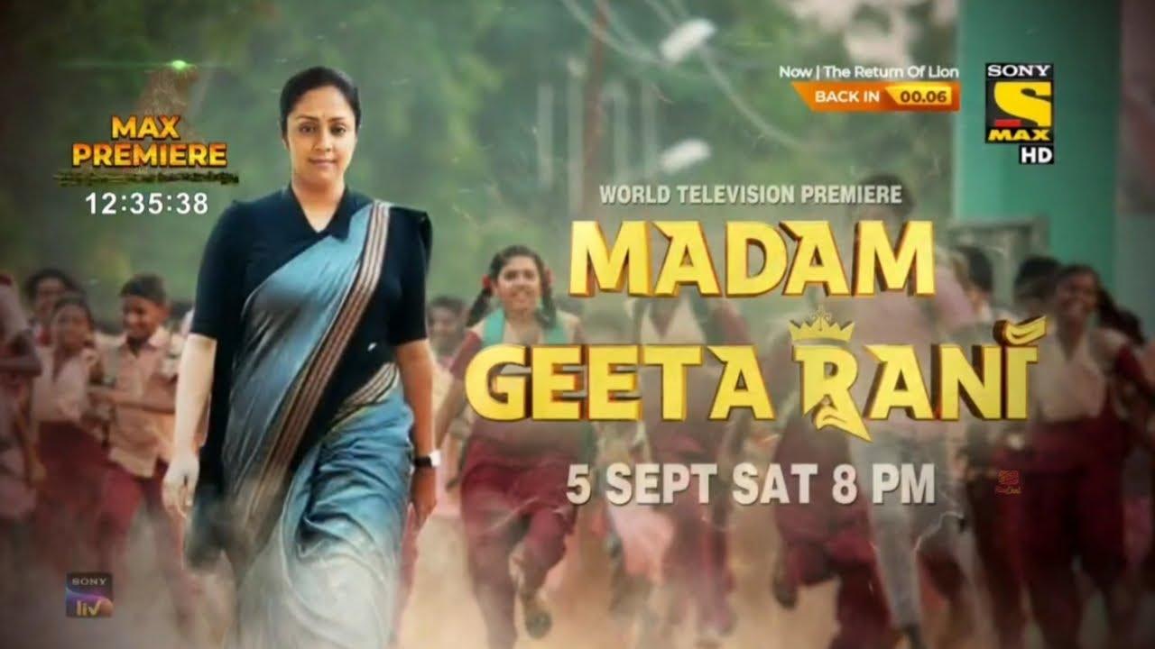 Download Madam Geeta Rani (2020) World TV Premiere   First Time On TV   Don't Miss