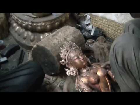 Statue's Factory in Patan (Nepal 2013)