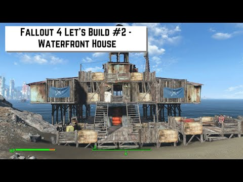 Fallout 4 Let's Build #2 - Waterfront House