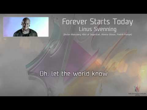 "Linus Svenning - ""Forever Starts Today"""