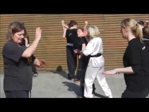 One off the many kung fu lessons by GM Walter Toch in his Kwoon Belgium