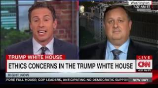 Walter Shaub Former director Govt Ethics revealing interview on Trumps Ethics with Chris Cuomo