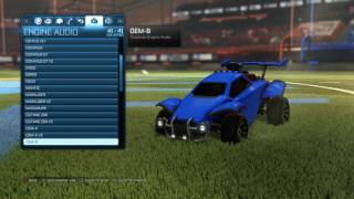 Rocket League®: All Engine Audio (Overdrive Update)