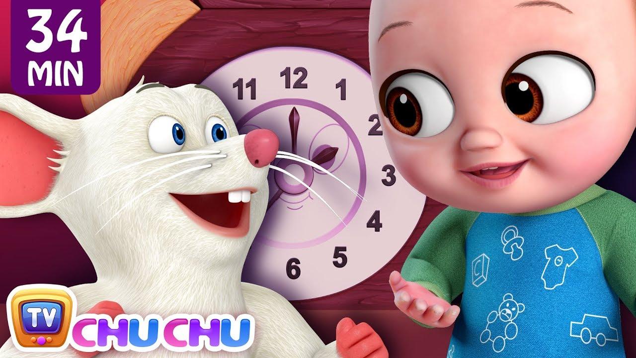 Hickory Dickory Dock + More ChuChu TV Baby Nursery Rhymes & Kids Songs
