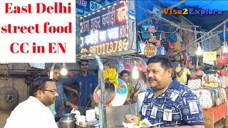 East Delhi famous street food   Puri Breakfast, Kachori, Tikki, Gol gappe & more