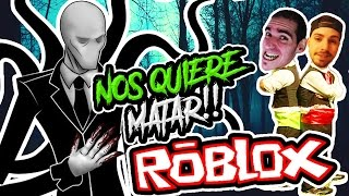 SLENDERMAN WANTS US TO KILL US!! | Roblox Stop it, Slender 2