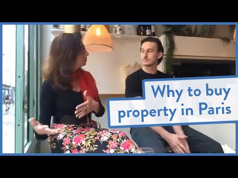 Why buy property in Paris with Adrian Leeds