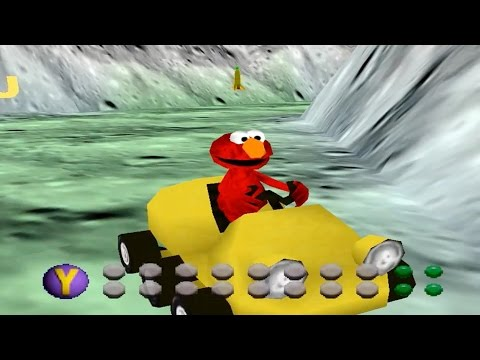 Elmo's Letter Adventure (Nintendo 64 Gameplay)