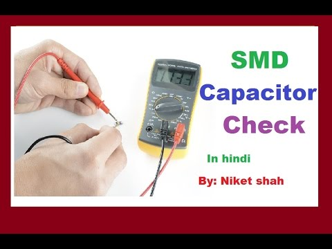 Testing Smd Capacitor With Multimeter