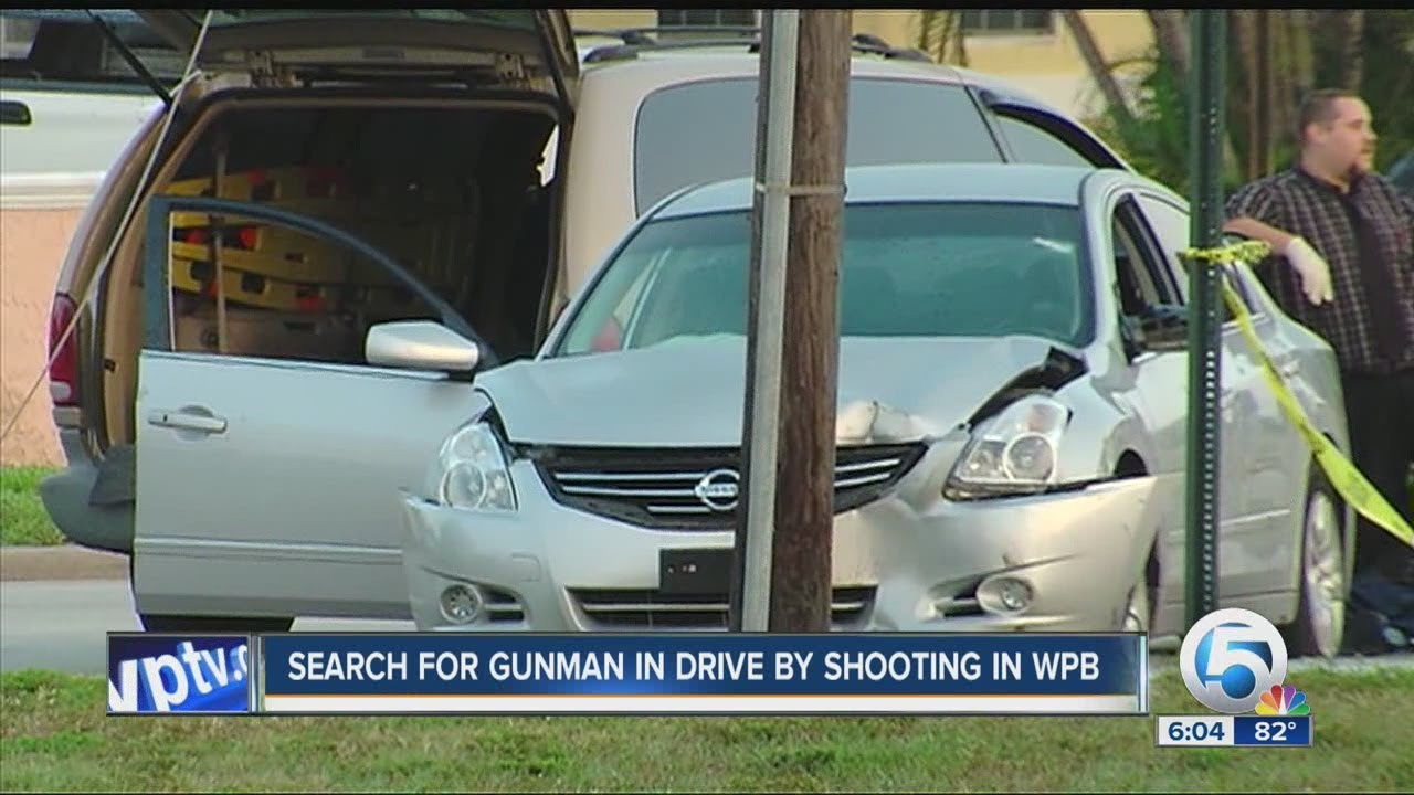 Drive by shooting in West Palm Beach by WPTV News | West Palm Beach Florida