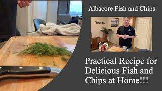 Albacore Tuna Fish n Chips Recipe