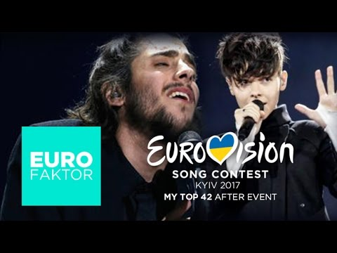 Eurovision 2017 - MY TOP 42 After Event from Hungary