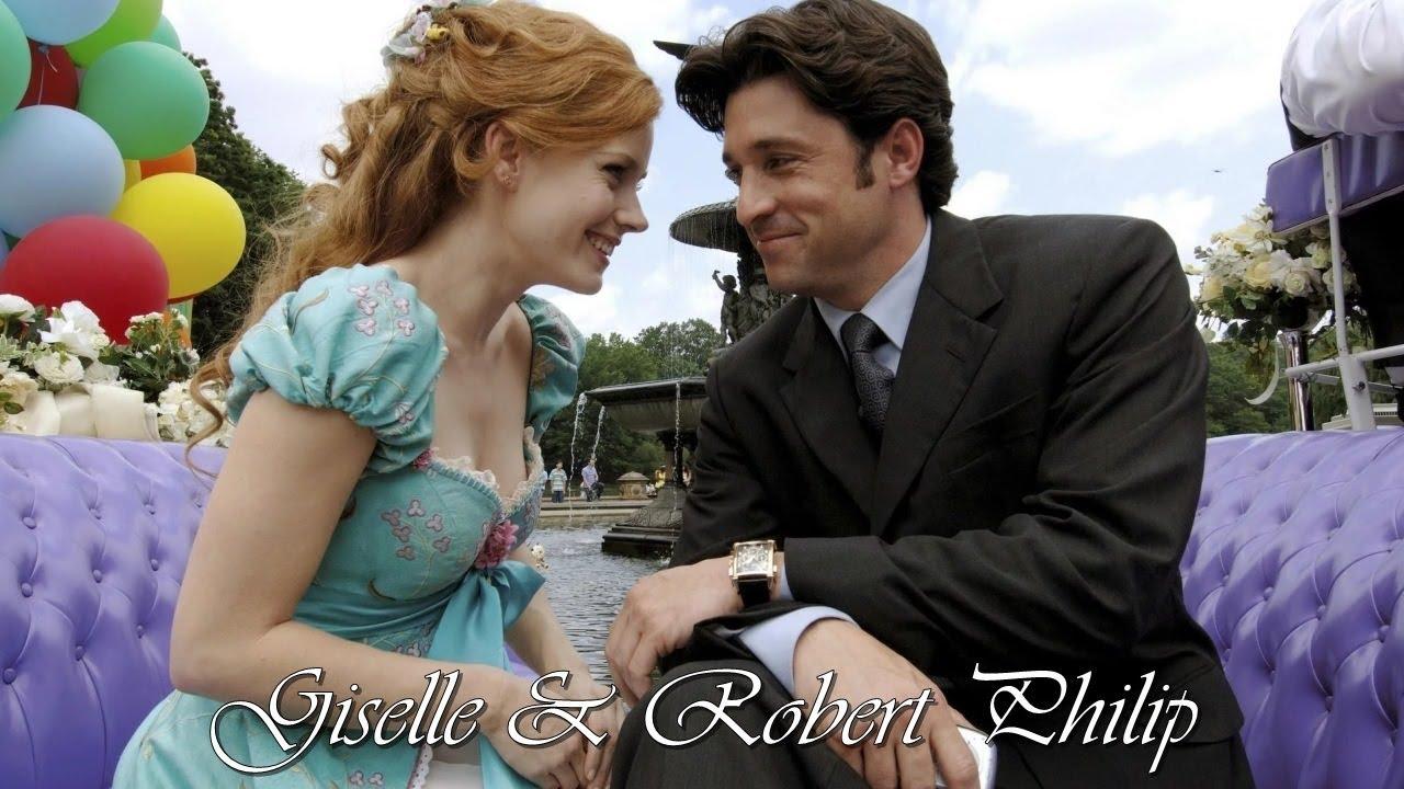 Giselle & Robert Philip (Enchanted) - YouTube