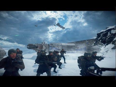 Star Wars Battlefront 2 - Starkiller Base Resistance! 2 HEROES!