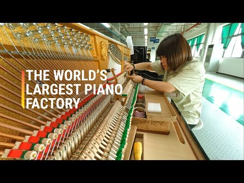 The Biggest Piano Factory In The World
